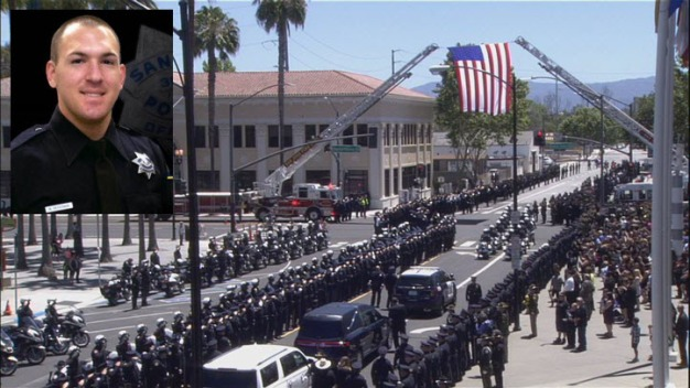 Memorial Service for Fallen SJPD Officer
