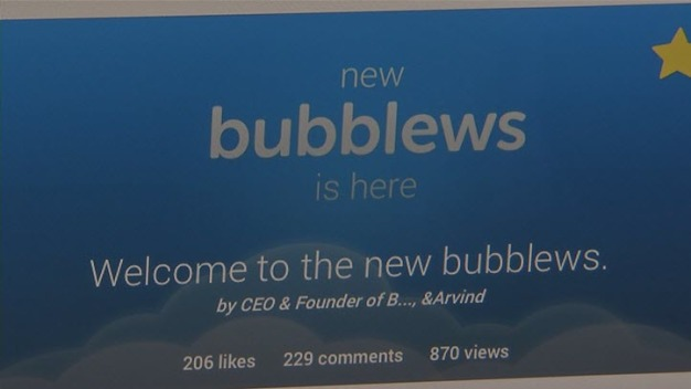 """Bay Area Startup """"Bubblews"""" Aims to Get Users Paid for """"Likes"""""""