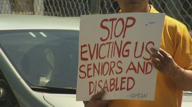 Rally Aimed at Helping Elderly Man Keep his SF Apartment
