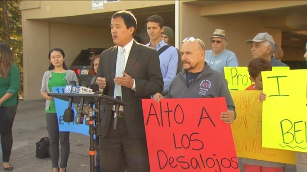 San Mateo Tenants Rally Against Evictions