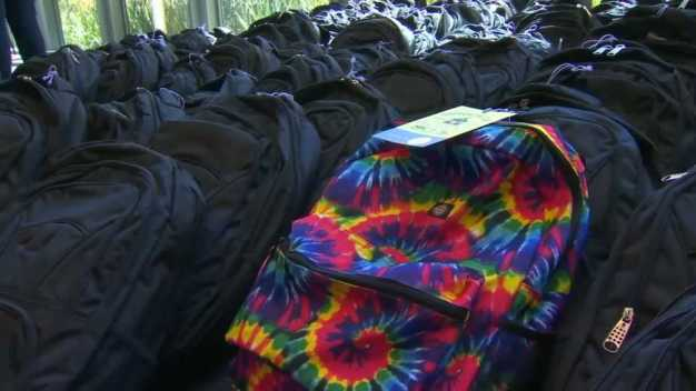 Family Giving Tree Passes Goal of Donating 37,000 Backpacks