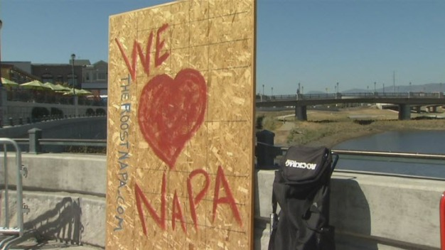 Napa Marks Anniversary of Earthquake With Celebration
