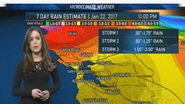 Vianey's Monday Forecast: Cool and Clear, Rain on the Way