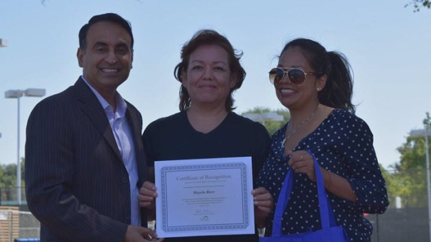 Cervantes Family Honored for Community Work