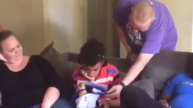 MUST SEE: Young Dubs Fan Gets Tickets, Overcome With Joy