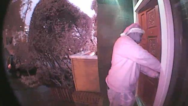 Man in Santa Hat Caught on Camera Burglarizing Noe Valley Home