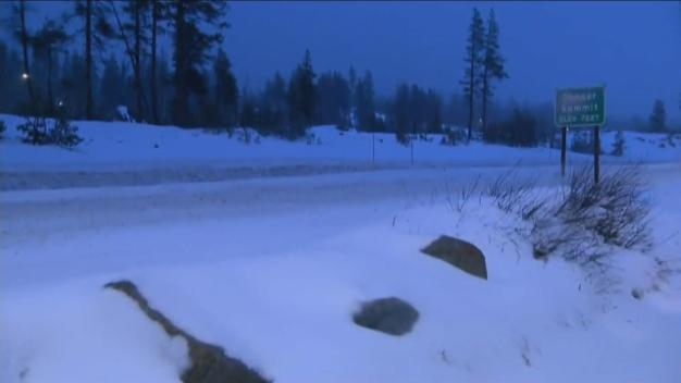 Snow in the Sierra: Donner Summit Blanketed