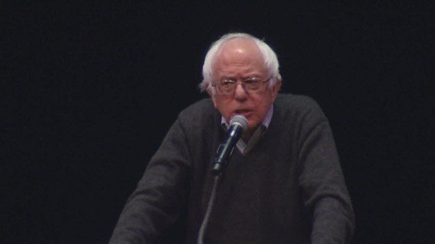 Bernie Sanders Visits Cal Berkeley During Book Tour
