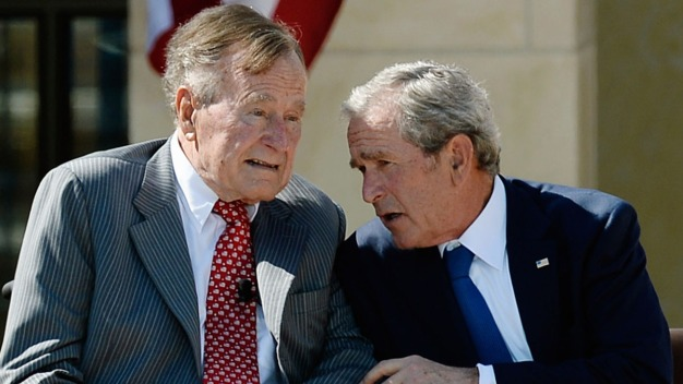 Bush Presidents Won't Be Endorsing Trump