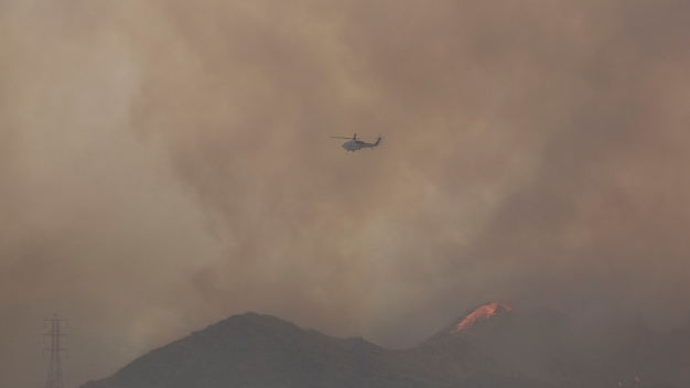 Rye Fire 90 Percent Contained After Burning Over 6K Acres
