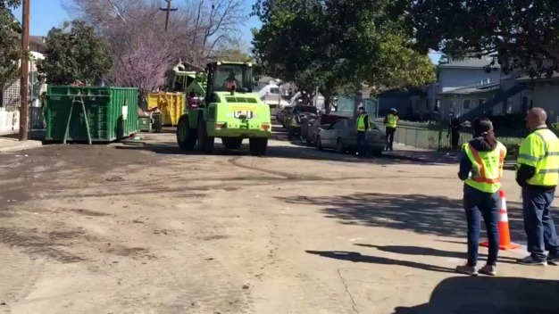 Slowly But Surely: Cleanup Continues in San Jose