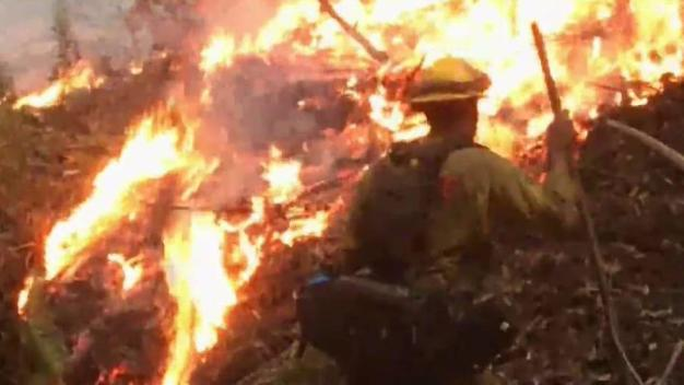 200-Acre Fire Guts 4 Structures in Santa Cruz Mountains