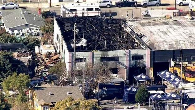 33 Bodies Recovered in Oakland Warehouse Fire; Death Toll Expected to Rise: Officials