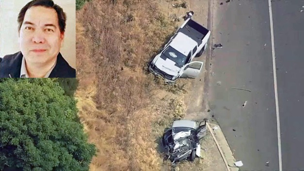 Family of Man Killed Along With CHP Officer Arrives, Speaks
