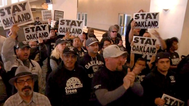 All In: Mayor Schaaf Pleads for Raiders to Stay in Oakland