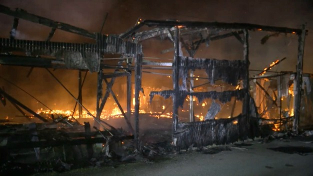 Greenhouses Gutted After One-Alarm Blaze in Half Moon Bay