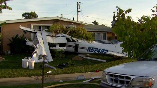 3 Injured After Small Plane Crashes Into House in San Jose