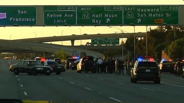 CHP Officers Fatally Shot Armed Carjacking Suspect on 101