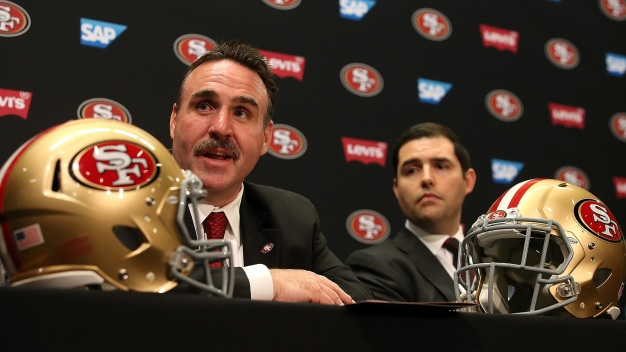 Banner Flies Over Levi's, Wants 49ers, York to Mutually Part Ways