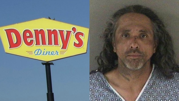 Union City Man Charged For Attempting to Light Diners in Denny's on Fire