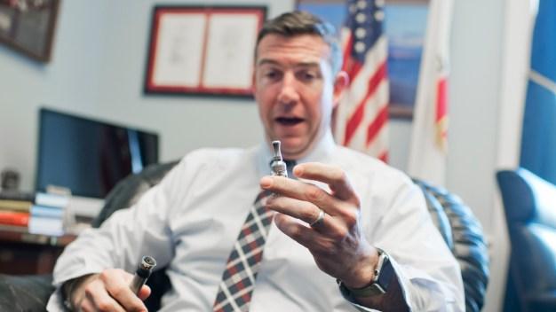 California Congressman Hits Vape Pen During Hearing