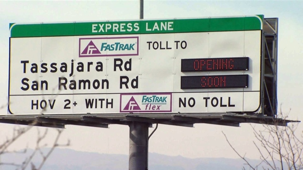 Express Lanes Set to Open Along I-580 Tri-Valley Corridor Later This Month