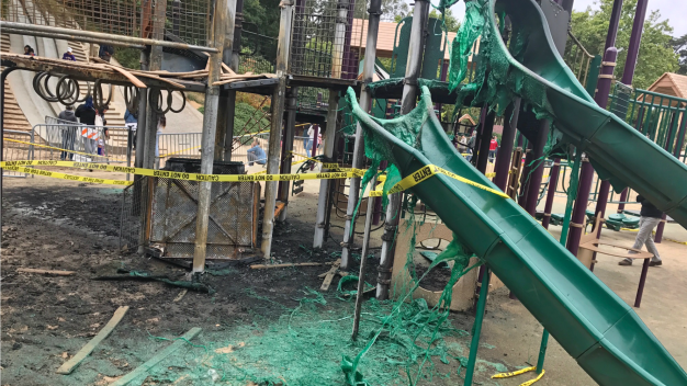 'Terrible Acts of Vandalism': Playground in Golden Gate Park Targeted by Vandals