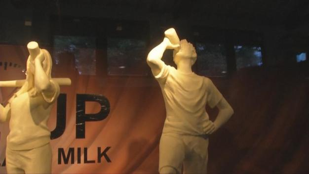 Larger-Than-Life Bottle of Chocolate Milk Pops Up in Ohio