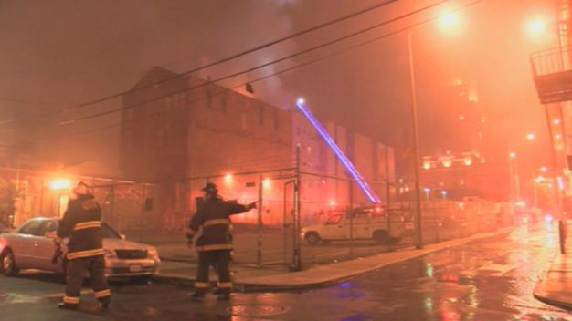 2-Alarm Fire at Vacant SF Building