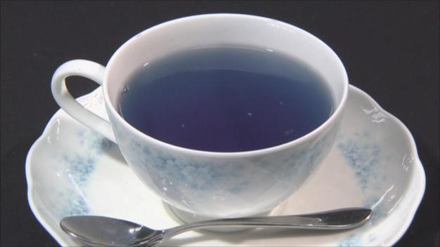 Blue Tea is Booming in Japan