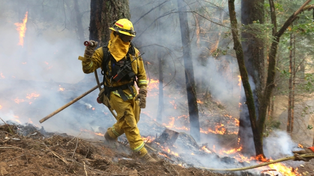 Smoke From Wildfire Cancels Ironman Tahoe Events