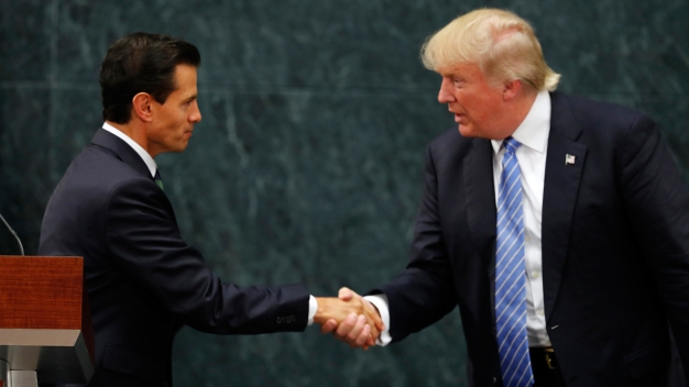 Trump Talks Border Wall With Mexican President