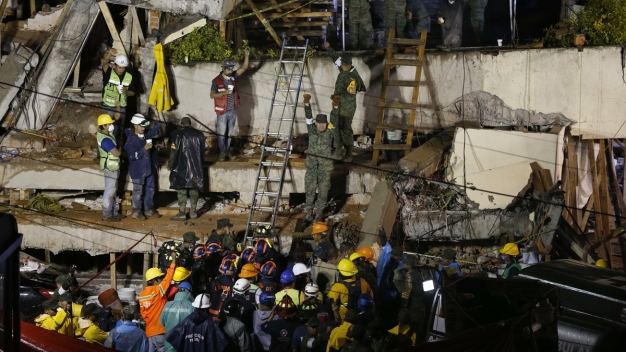 Trapped Girl a Symbol for Mexico's Earthquake Rescue Efforts