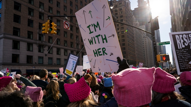 Global Female Empowerment Marches Enter 2nd Day