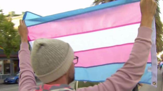 Anti-Transgender Policy Protest Takes Place in the Castro