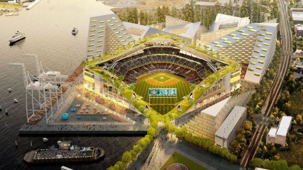 A's Unveil Renderings for Proposed Howard Terminal Stadium