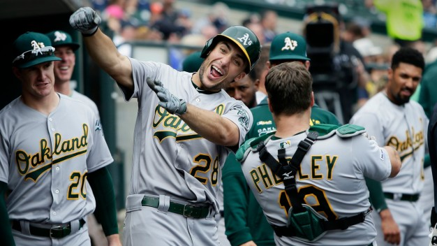 Profar Slam, A's Romp 17-3 for 13th Straight Win Over Tigers