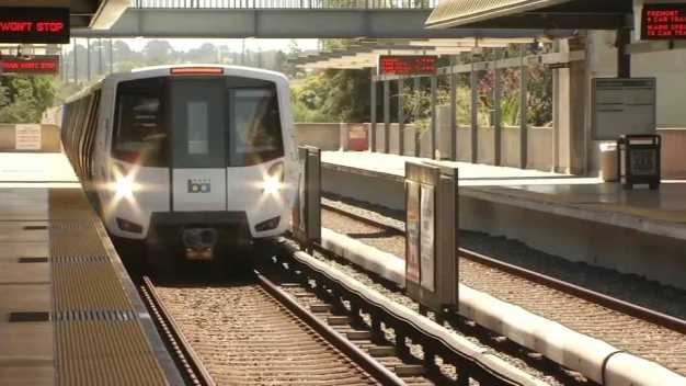 BART's New 'Fleet of the Future' Hits the Tracks