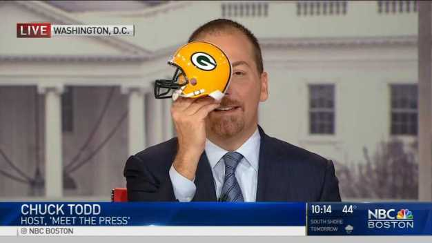 Chuck Todd Wants Green Bay in Superbowl