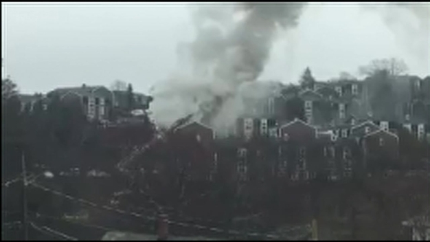 Viewer Video: Fire Breaks Out in Waltham, Massachusetts