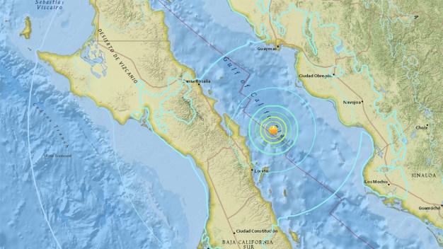 Quake Rattles Baja California
