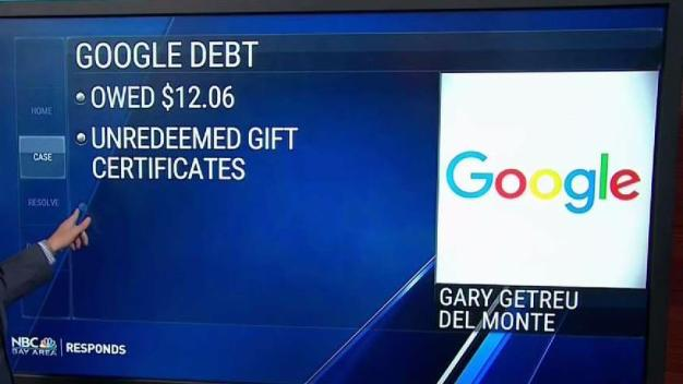 Bay Area Man Hits Snag Trying to Collect Money From Google