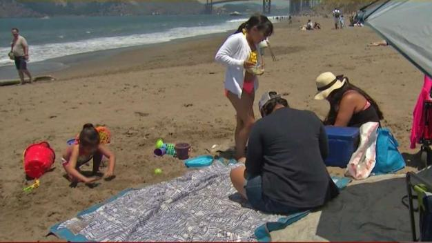 Bay Area Residents Flock to the Coast to Escape the Heat
