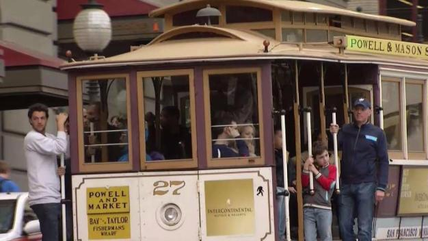 Cable Cars Taken Off San Francisco's California Street For Week-Long Upgrades