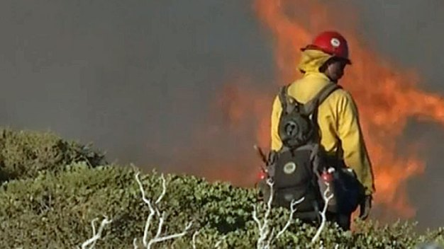 Northern California Wildfire Destroys 10 Homes