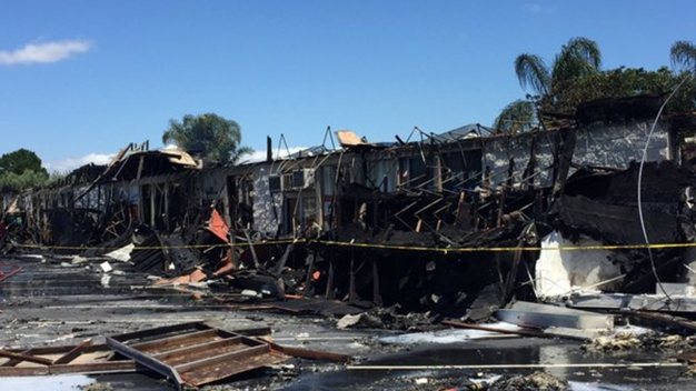Five-Alarm Fire Rips Through Santa Clara Mall