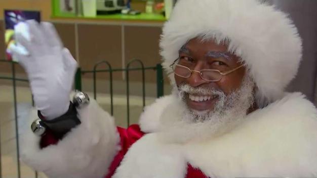 African-American Santa Brings Diversity to the Holidays