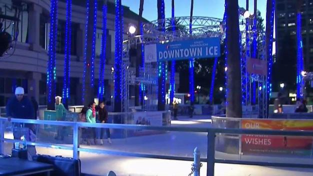Downtown San Jose Ice Rink Opens Ahead of Holidays