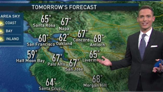 Jeff's Forecast: Early Rain & Cooler Day