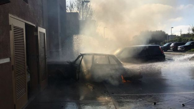 Car Crashes Into Emeryville Bakery, Causing Gas Leak, Fire